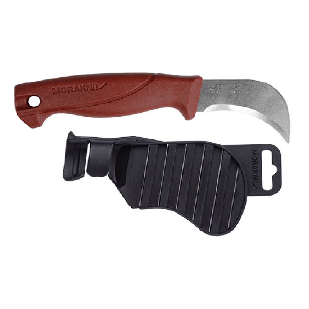 MORAKNIV|Roofing Felt Knife 皮革/毛氈製品切割刀(紅)