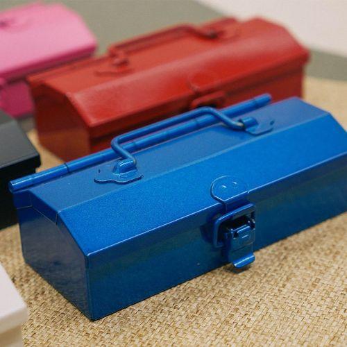 TOYO|Y-12B COBAKO 12cm小箱/工具盒 日本製(藍)