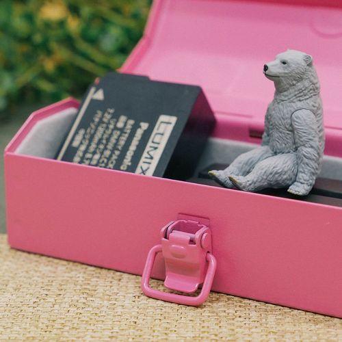 TOYO|Y-12P COBAKO 12cm小箱/工具盒 日本製(粉紅)