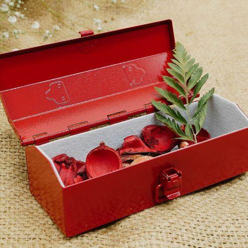 TOYO|Y-14R COBAKO 14cm小箱/工具盒 日本製(紅)