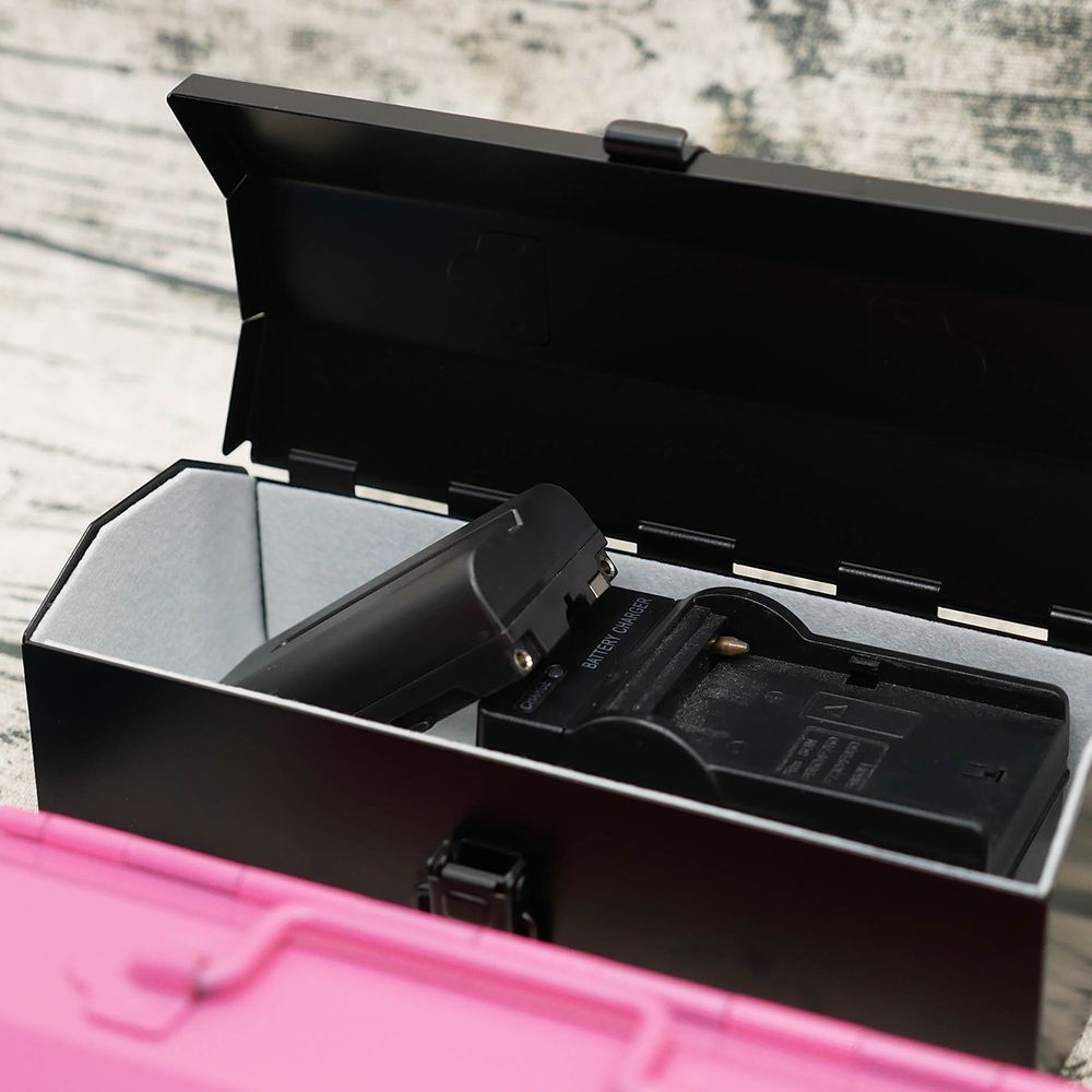TOYO|COBAKO 17cm小箱/工具盒 日本製(黑)