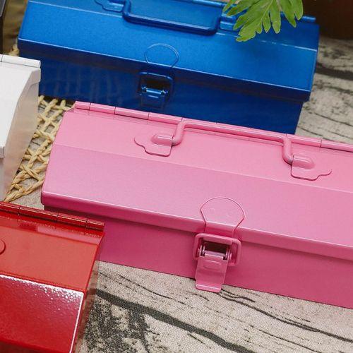 TOYO|COBAKO 17cm小箱/工具盒 日本製(粉紅)