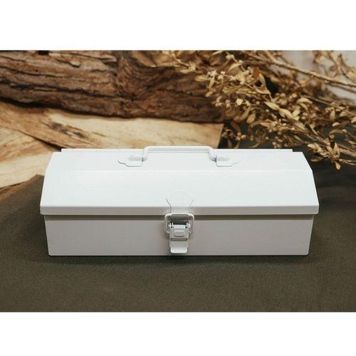 TOYO|COBAKO 20cm小箱/工具盒 日本製(白)