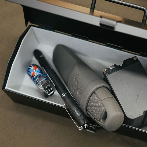 TOYO|COBAKO 20cm小箱/工具盒 日本製(黑)