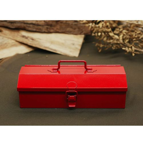 TOYO|COBAKO 20cm小箱/工具盒 日本製(紅)