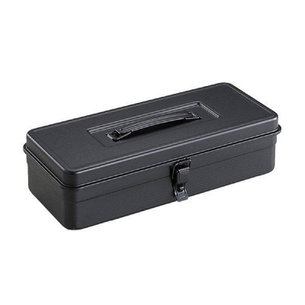 TOYO|T-350 提把方型工具箱(黑)