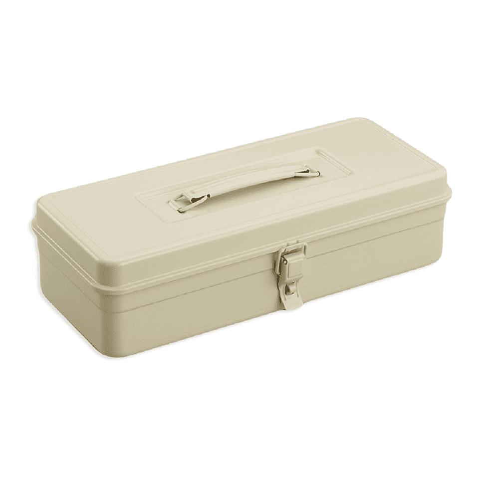TOYO|T-350 提把方型工具箱(米黃)