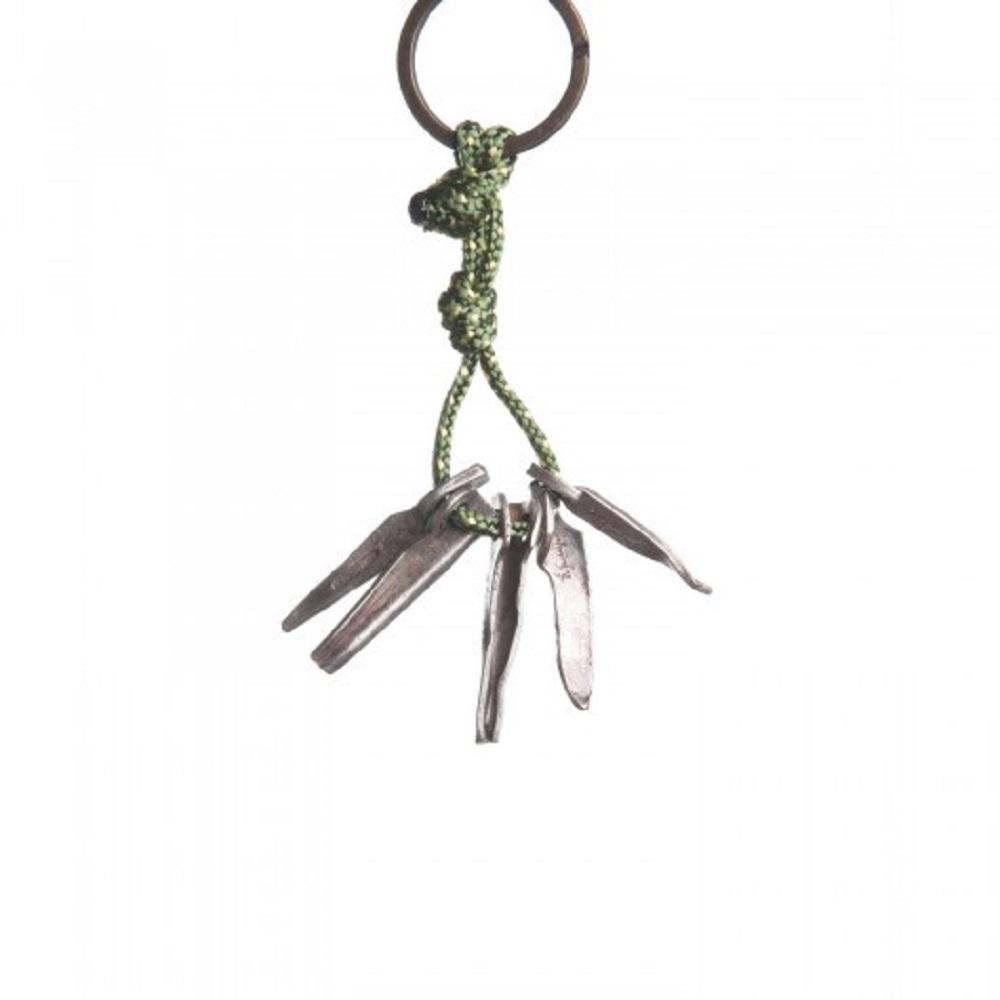SAC|Set Rock Pitons #20 青銅鑰匙圈掛飾 岩釘