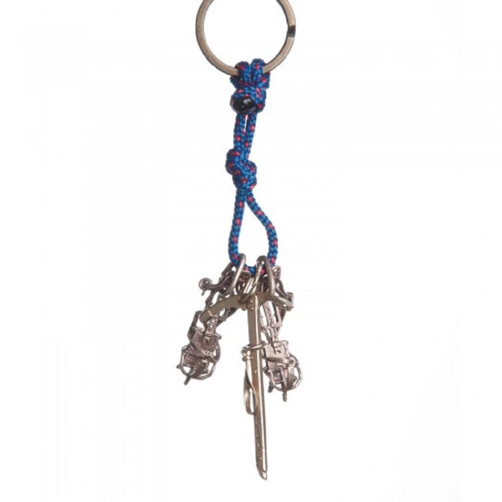 SAC|Crampons & Classic Ice Axe #28 青銅鑰匙圈掛飾 冰爪+健行冰斧