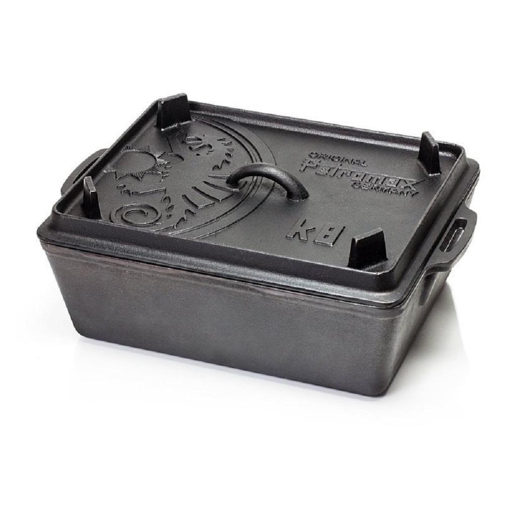 Petromax|K8 Loaf Pan 鑄鐵方形荷蘭鍋 5.5L