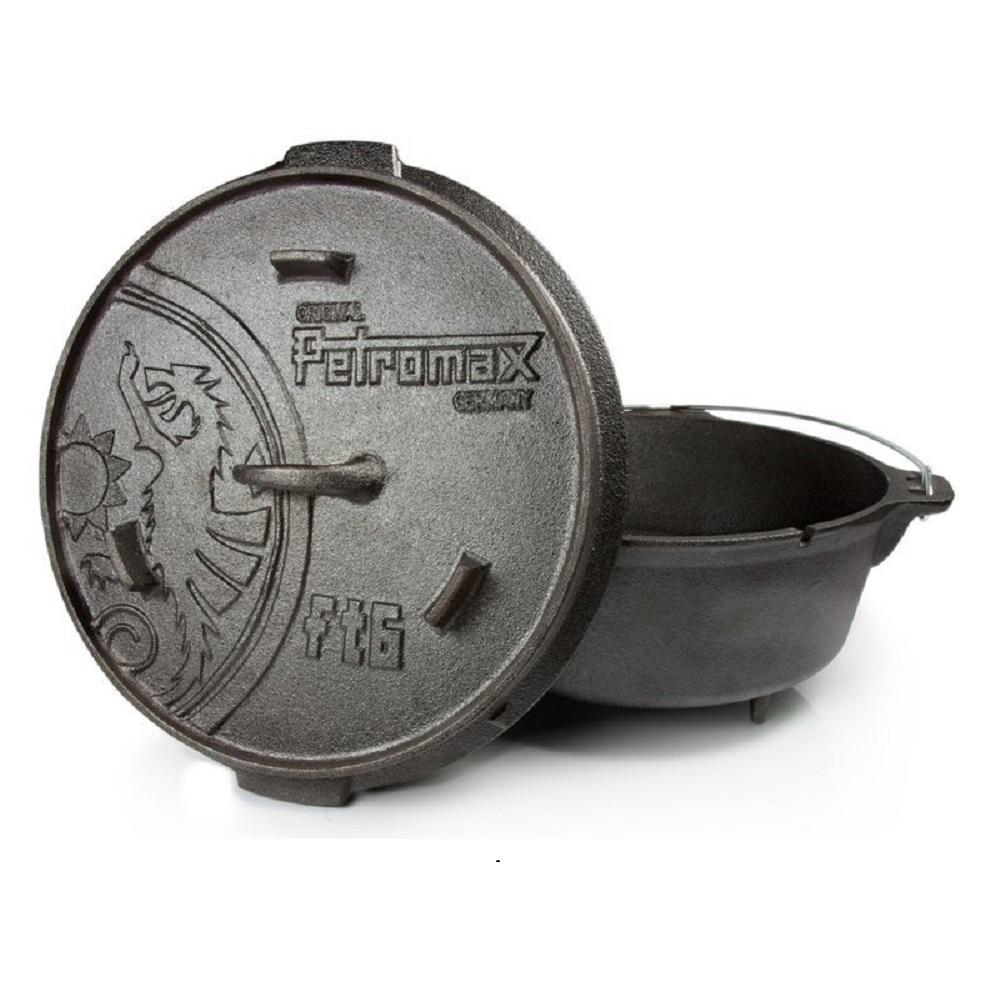 Petromax|FT6 Dutch Oven 鑄鐵荷蘭鍋12吋 (有腳)