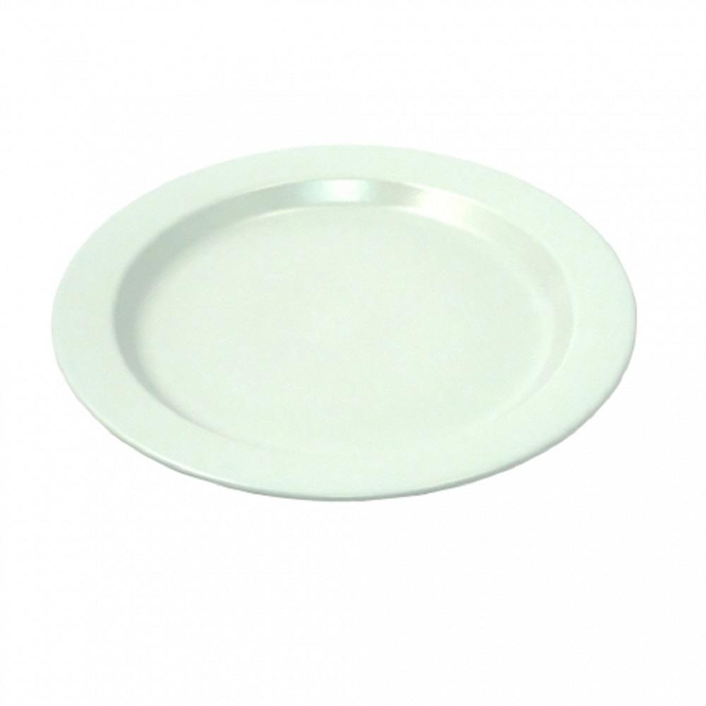 Platchamp|日本製琺瑯餐盤 30cm 湖綠