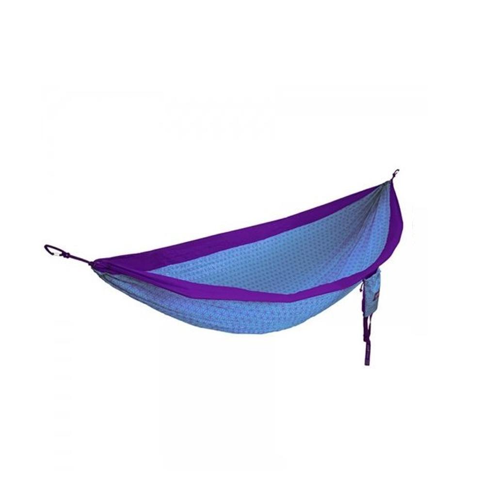 ENO|DoubleNest Hammock 花漾生活雙人吊床 (紫/藍綠色)