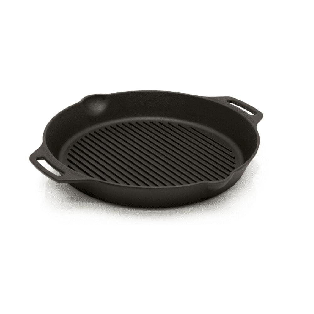 Petromax|Grill Fire Skillet 雙耳條紋鑄鐵煎鍋 35cm