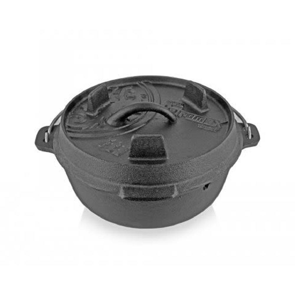 Petromax|Dutch Oven 鑄鐵荷蘭鍋8吋 (平底)