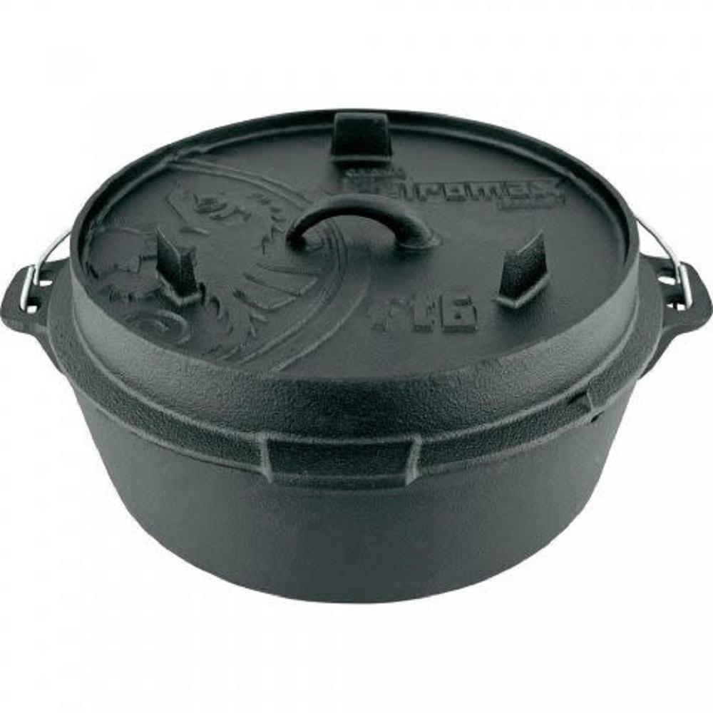 Petromax|Dutch Oven 鑄鐵荷蘭鍋12吋(平底)