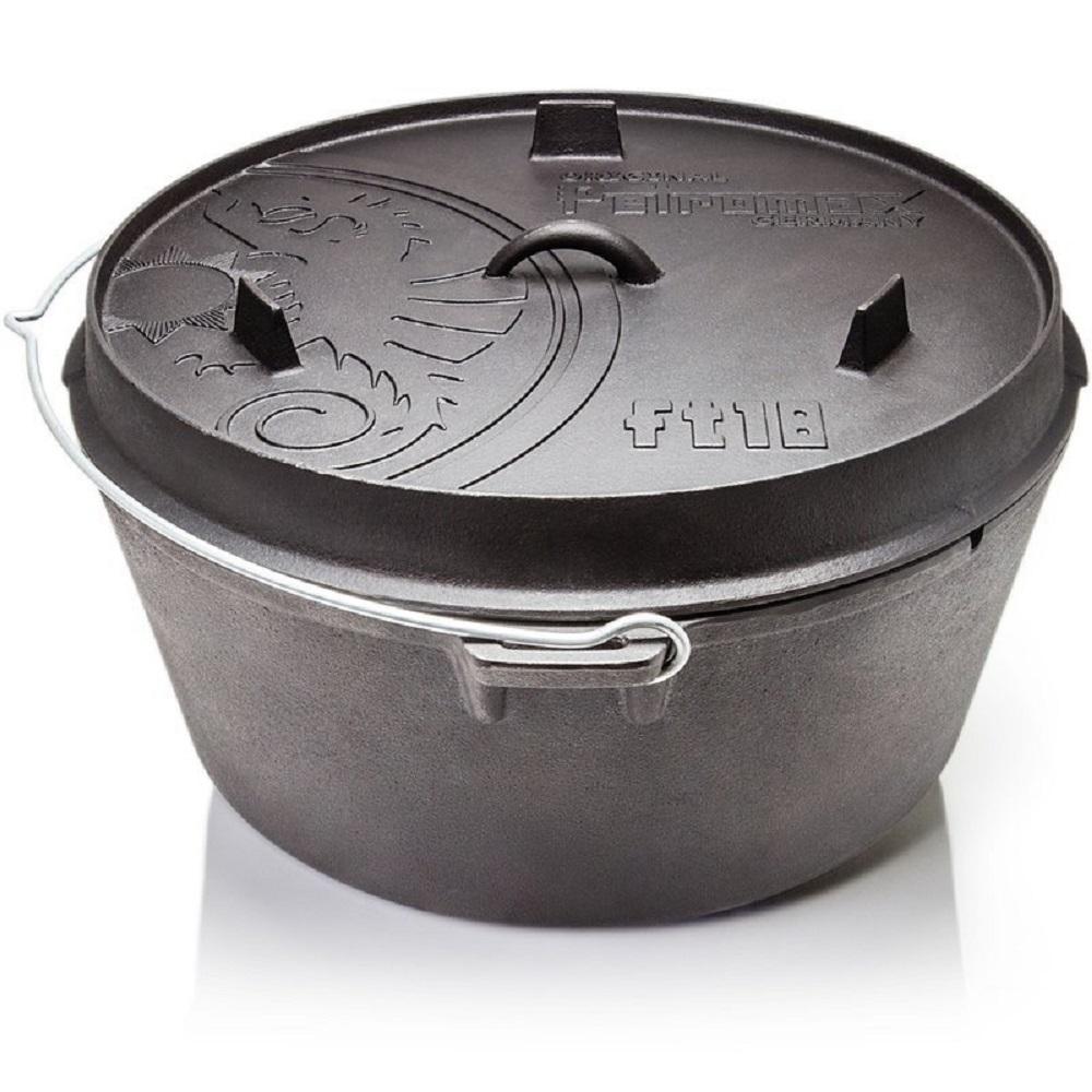 Petromax Dutch Oven 鑄鐵荷蘭鍋17吋 (平底)