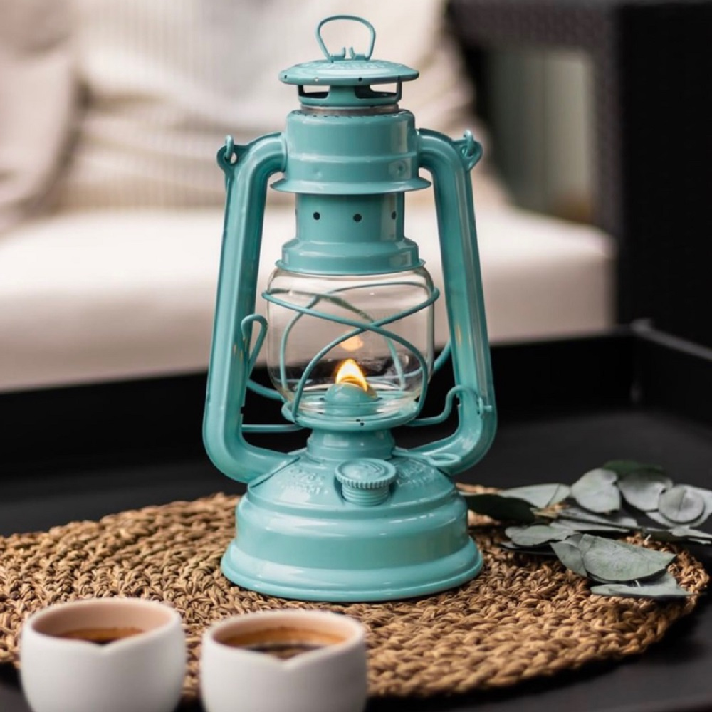 Feuerhand|Baby Special 276 古典煤油燈 火手燈 (蒂芬尼藍)