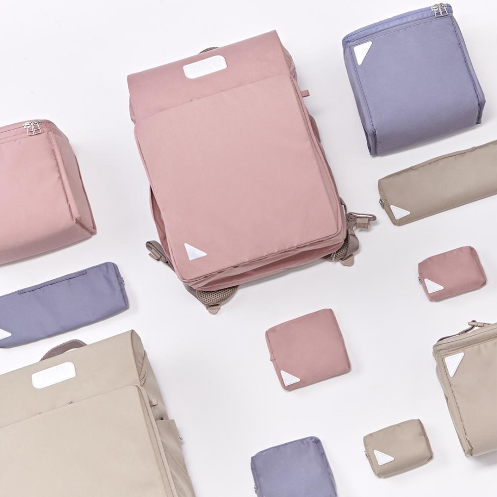 PUGO|聰明書包環保新升級2.0 (藕粉色)