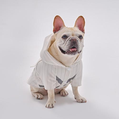 PEHOM|安全反光條條紋狗狗運動帽衣