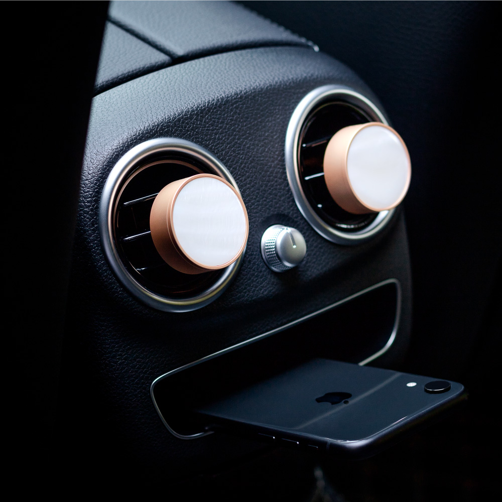 DAILY LAB|360° 限量貝殼款 車用香氛(兩色任選)