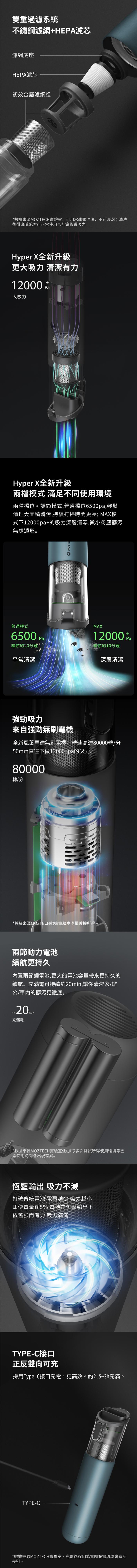 MOZTECH HYPER-X 萬用吸塵器