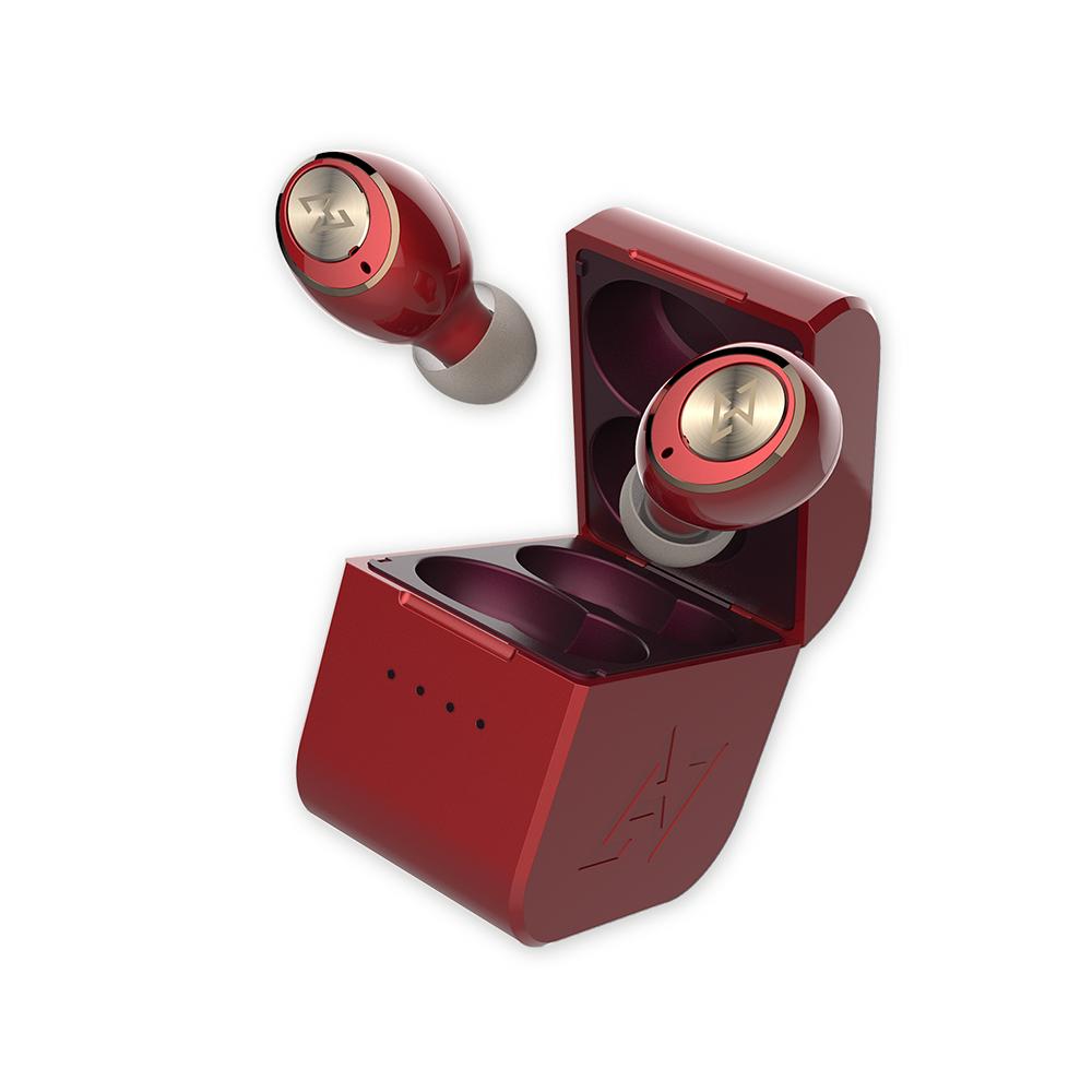 AVIOT|TE-D01g 真無線藍牙耳機-和月紅