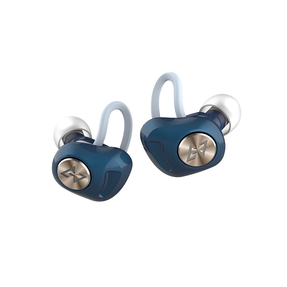 AVIOT TE-D01d 真無線藍牙耳機-藍