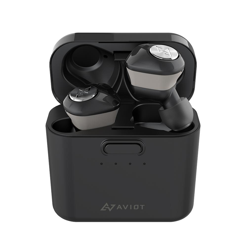 AVIOT|TE-D01d 真無線藍牙耳機-黑