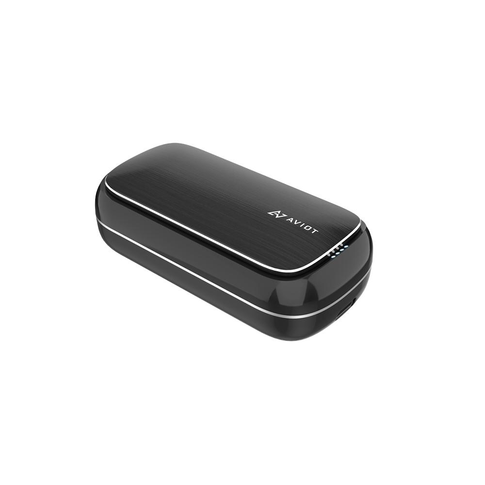 AVIOT TE-BD21f 真無線藍牙耳機-黑