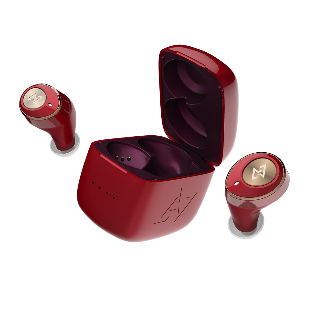AVIOT|TE-D01m 真無線藍牙耳機-和月紅