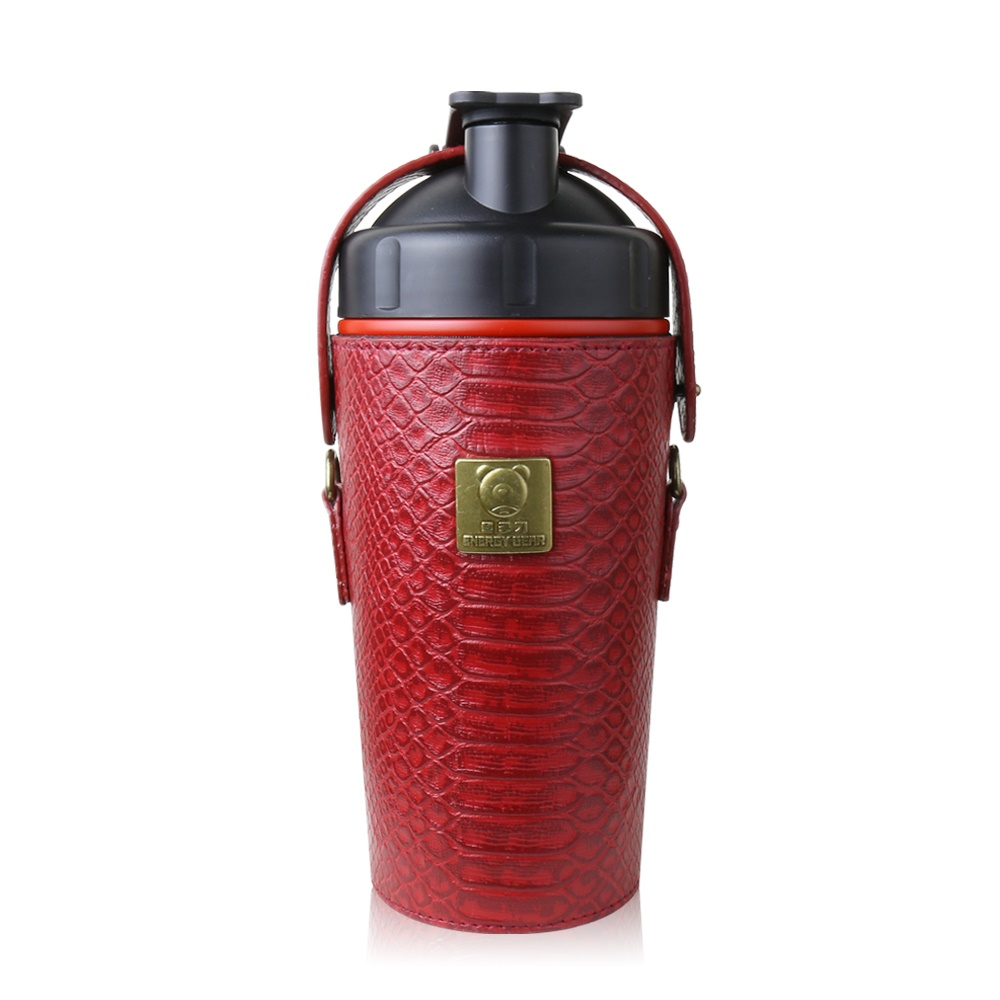 BEDDY BEAR|開芯能量可背式手提保溫保冷水壺600ML(紅色)