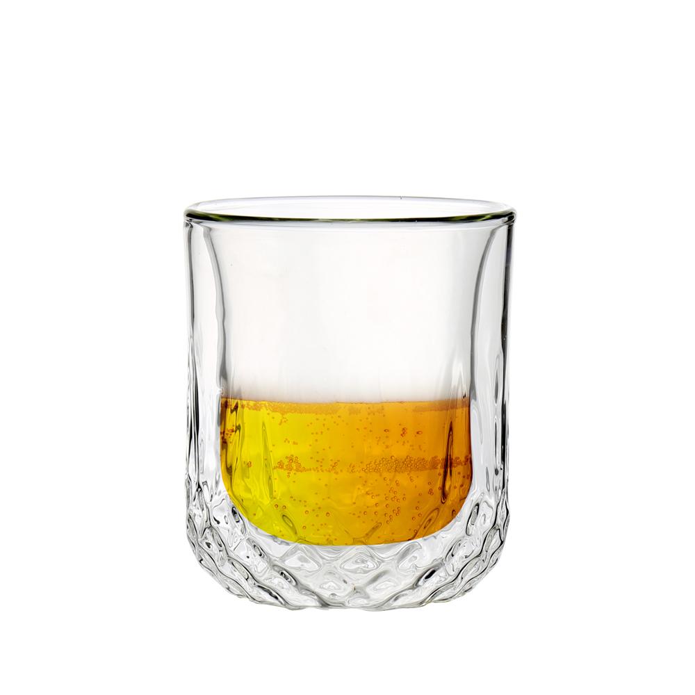 FUSHIMA 富島|星宸系列雙層耐熱玻璃杯220ML