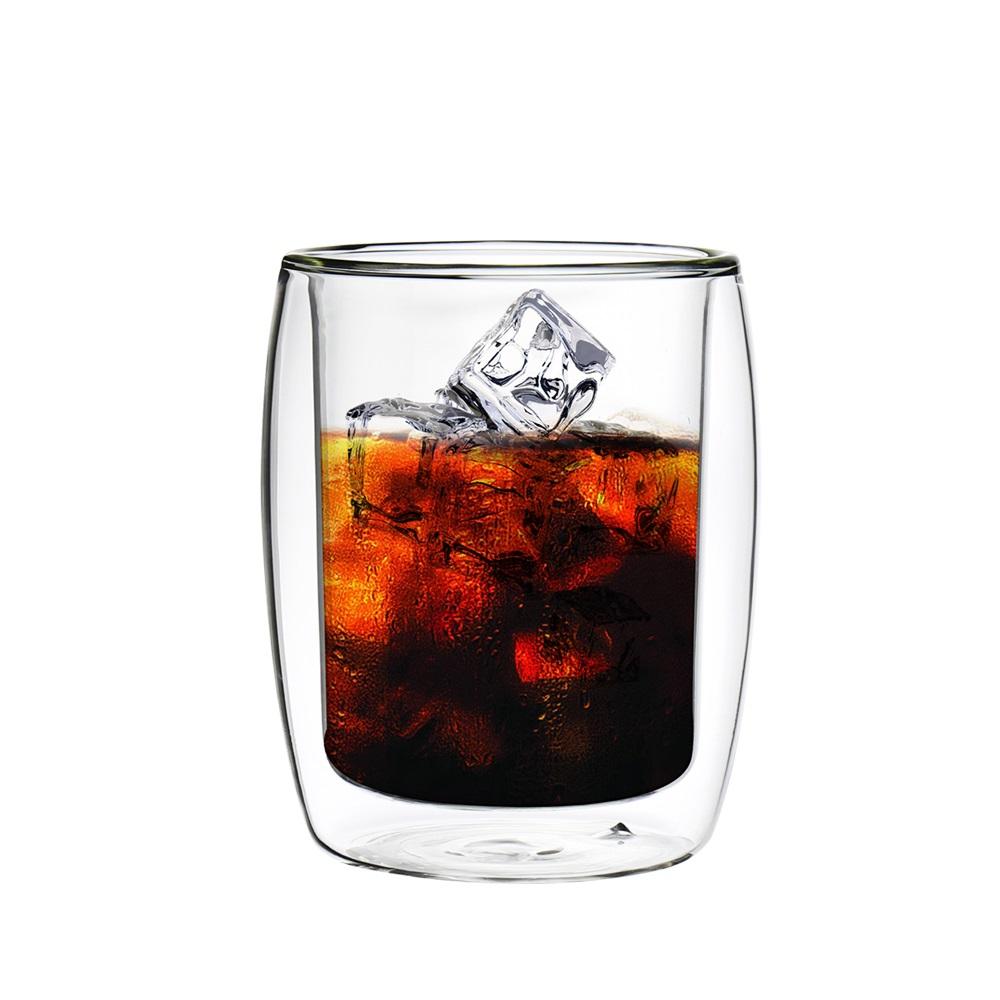 FUSHIMA 富島|英倫系列雙層耐熱玻璃杯260ML