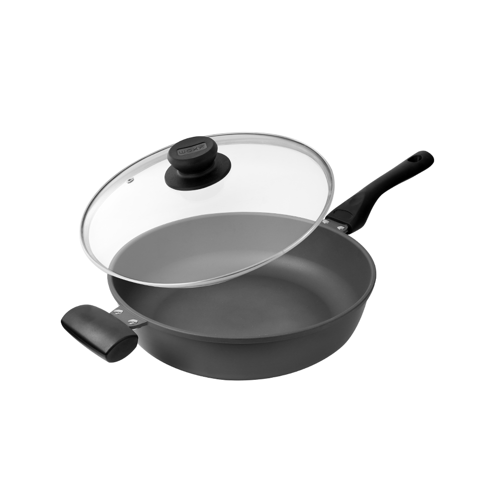 WOKY 沃廚|極岩深煎鍋30CM(健康無塗層)