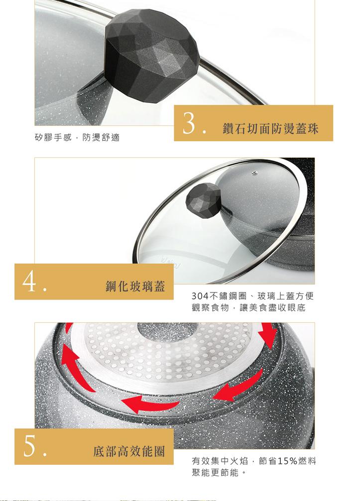 (複製)WOKY 沃廚|超合金不鏽鋼平煎鍋30CM