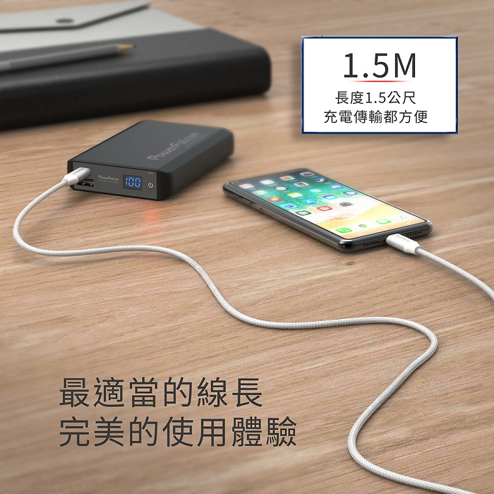 (複製)PowerFalcon 4口摺疊快速充電器/USBA