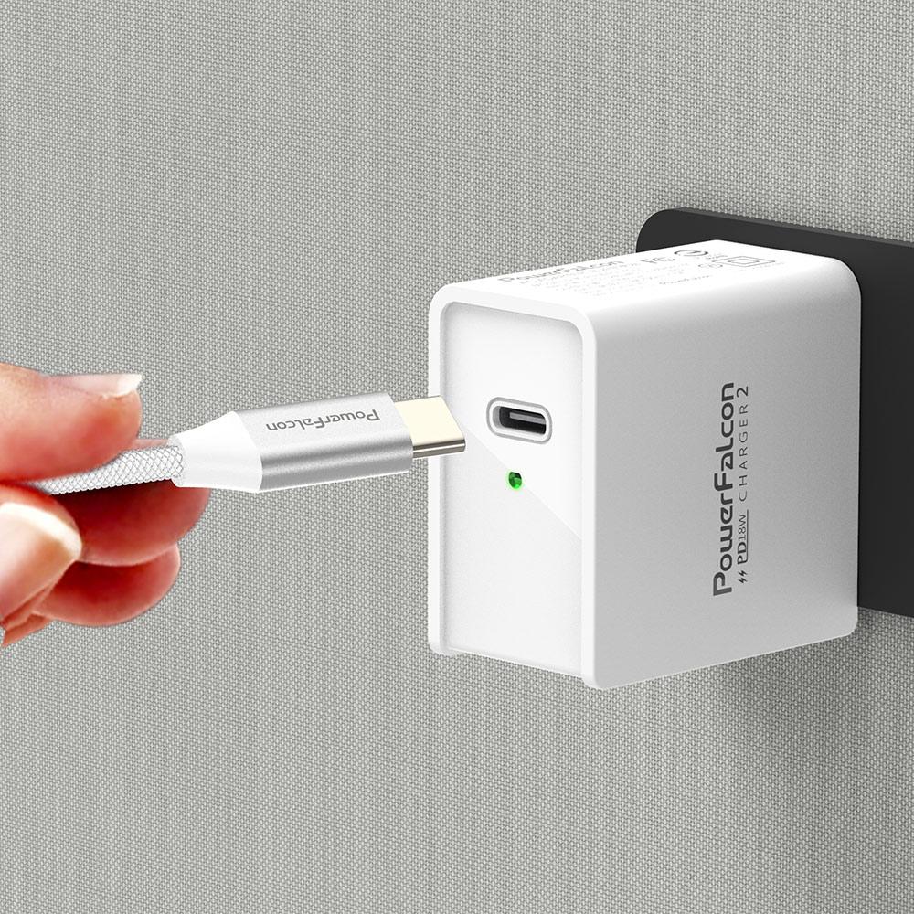 PowerFalcon|18W PD快充充電器/USBC