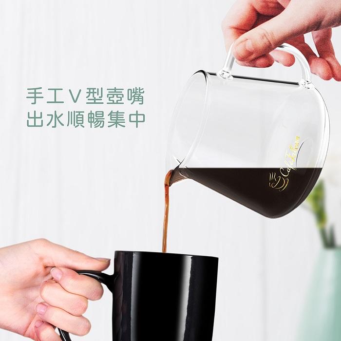 PowerFalcon|CaféFalcon 精品手沖咖啡濾杯組+PureFresh 醇鮮 咖啡磨豆機(第三代)贈濾紙