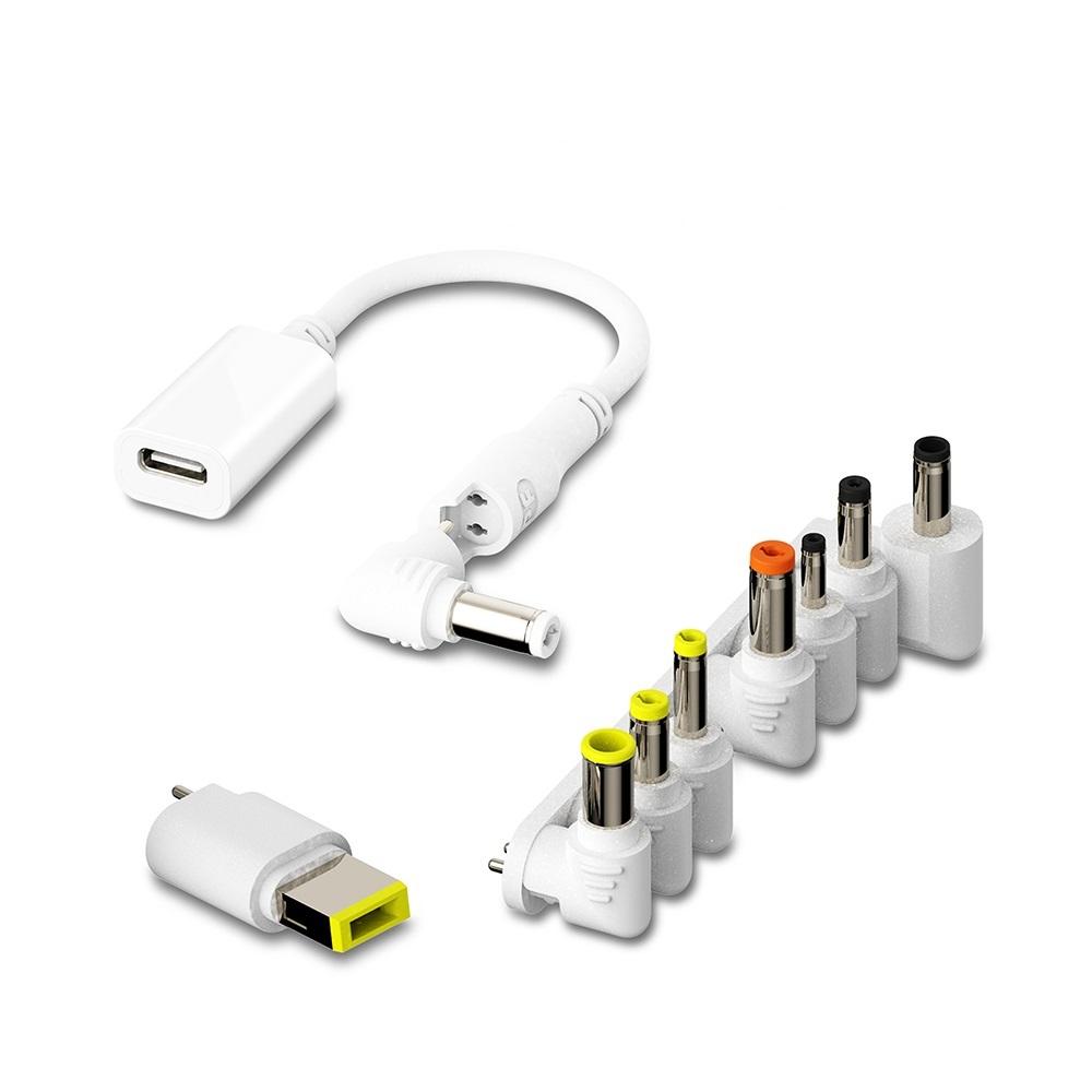 PowerFalcon|MagicTrust 萬用PD充電線 + 9種轉換頭