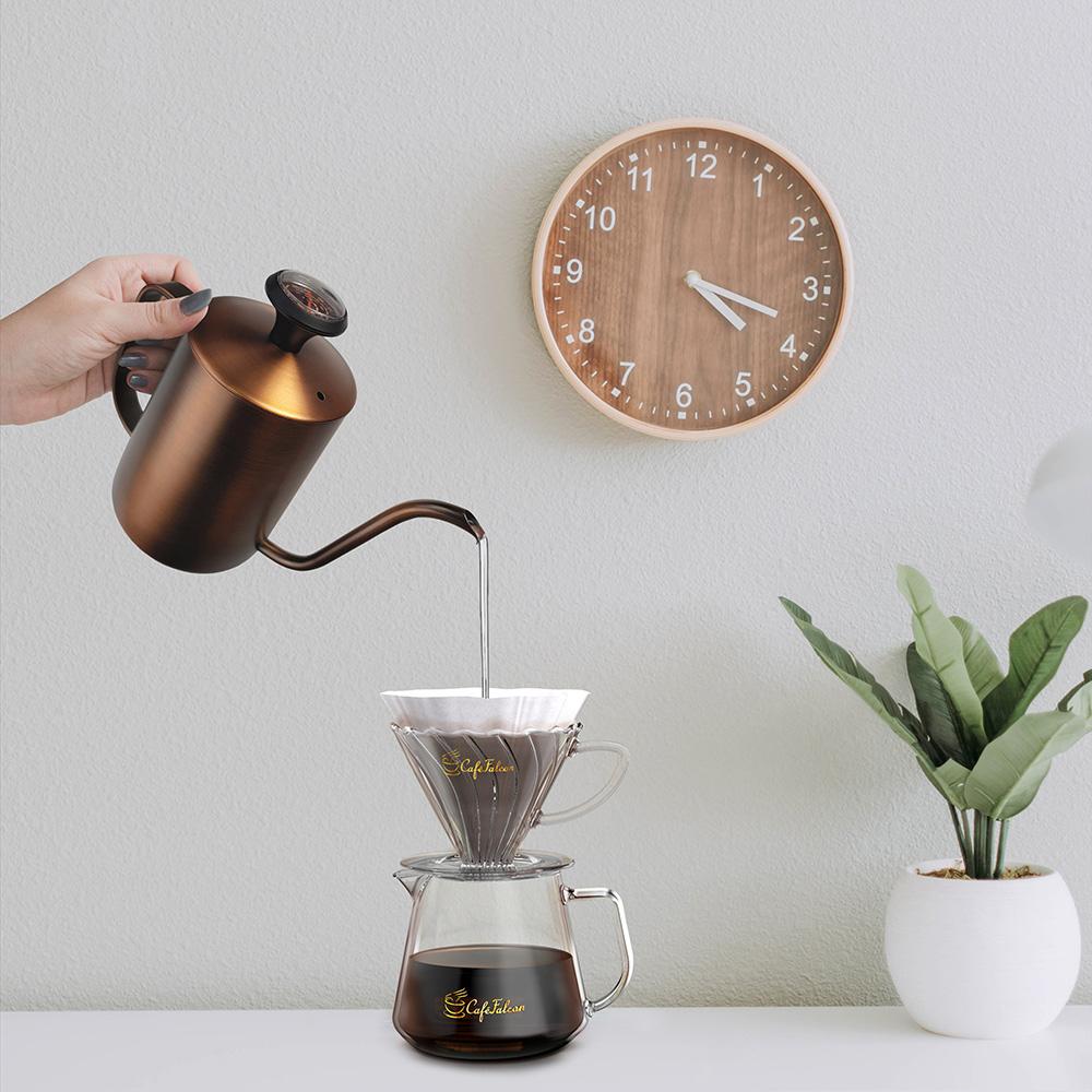 PowerFalcon|Purefresh電動磨豆機(第二代) + CaféFalcon細口手沖壺