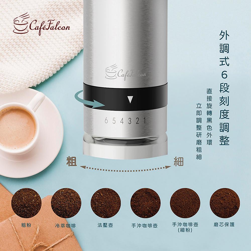PowerFalcon|CafeFalcon 外調式磨豆機