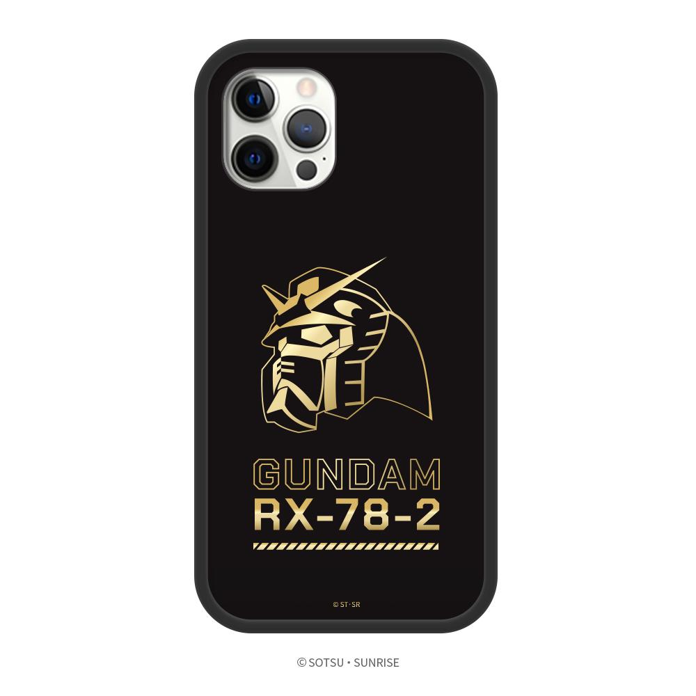 DELTAPRO 鋼彈聯名系列 iPhone 12 手機殼 鋼彈頭像燙金A款