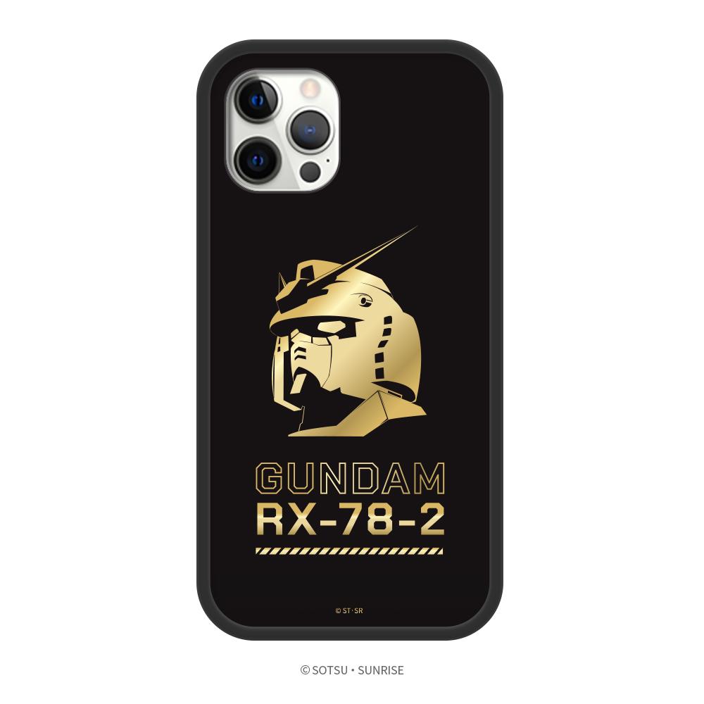DELTAPRO|鋼彈聯名系列 iPhone 12 手機殼 鋼彈頭像燙金B款