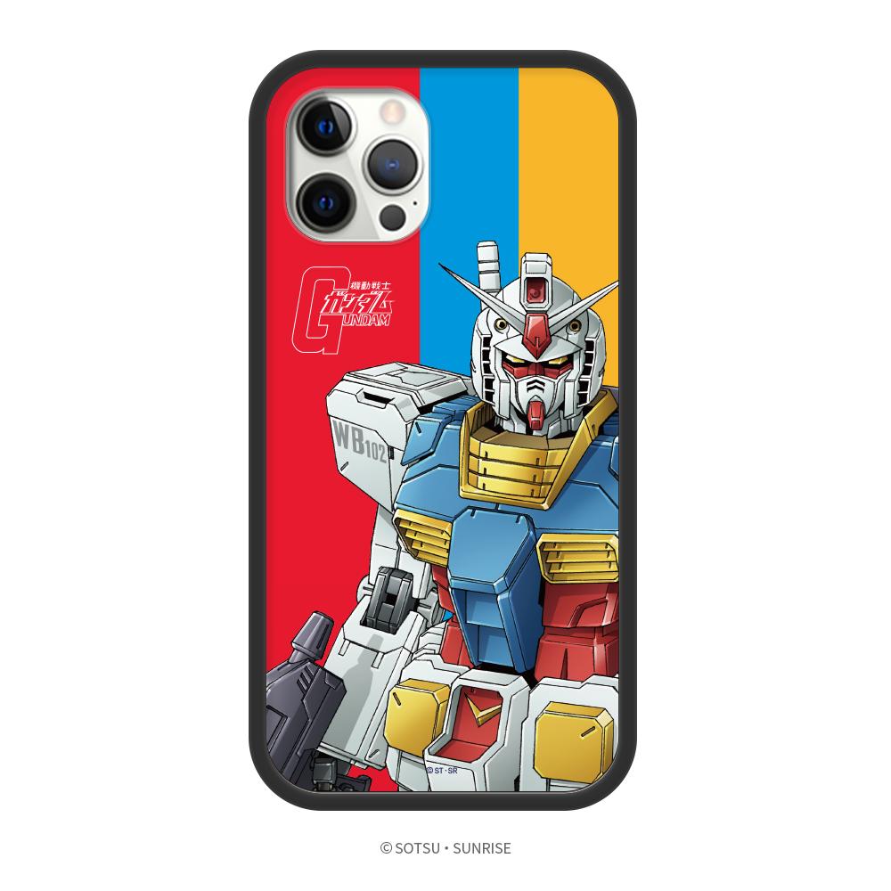DELTAPRO|鋼彈聯名系列 iPhone 12 手機殼 鋼彈三彩