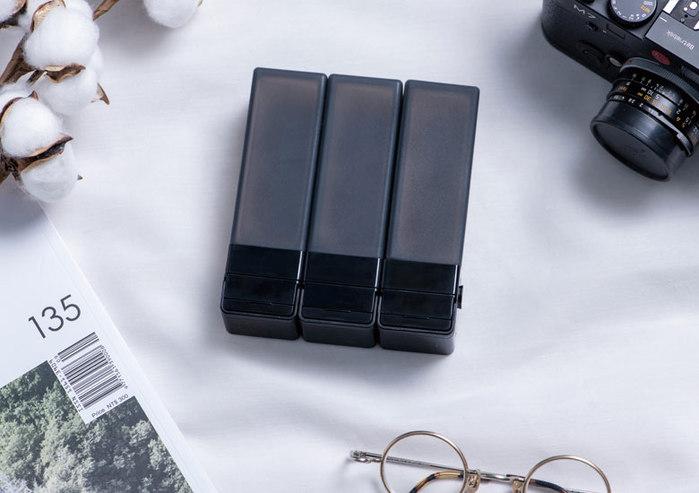 Suzzi|積木旅行分裝瓶 - 三件旅行組(黑L)