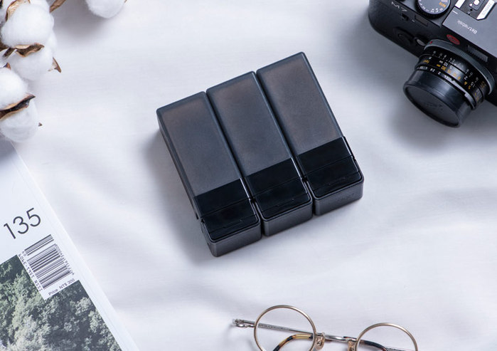 Suzzi|積木旅行分裝瓶 - 三件旅行組(黑M)