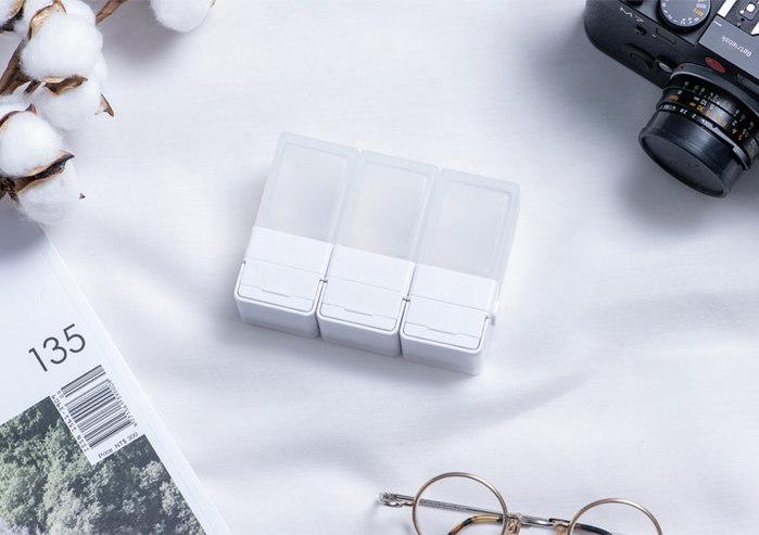Suzzi|積木旅行分裝瓶 - 三件旅行組(白S)