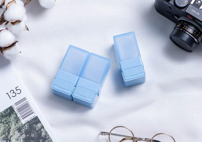 Suzzi|積木旅行分裝瓶  三件旅行組 - 尼斯藍S