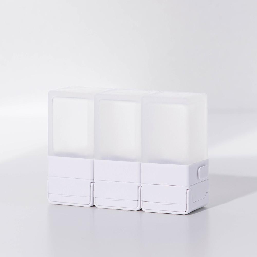 Suzzi|積木旅行分裝瓶 希臘白S 50ml - 三件旅行組